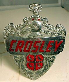 Crosley Car Badge
