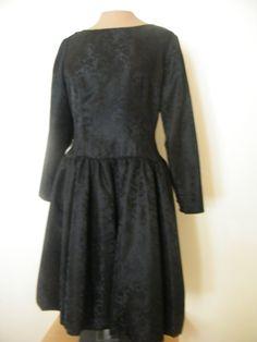 Vintage 1960's handmade party dress