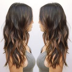Dark brown ombre More