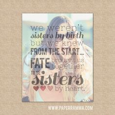 Hey, I found this really awesome Etsy listing at https://www.etsy.com/listing/211553465/sisters-by-heart-best-friend-christmas