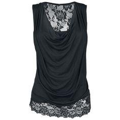 Sleeveless Backlace - Naisten toppi - EMP Black Premium - Tuotenumero: 257026 - alkaen 19,99 € - EMP.fi - naisten ja miesten vaatteet sekä b... koko xl
