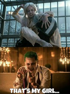 Joker proud of Harley