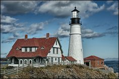 Portland Head Light, located in Cape Elizabeth, is the oldest lighthouse in the state of Maine. The lighthouse itself is over 200 years old and was originally constructed during the Civil War to aid in the prevention of ship raids.
