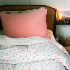 printed duvet from Schoolhouse Electric