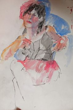 Irreverent Art, Liz Hill: some quick sketches from this week