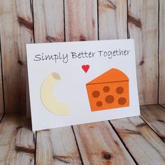 This handmade card makes us smile, and we think that's reason enough for it to make its way to someone special this Valentine's Day.