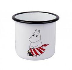 Moomin Retro Enamel Mug – Mamma | The Moomin Shop