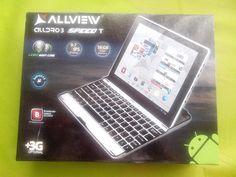 "Tablet Allview, Alldro 3T. Con teclado bluetooth. 10"". Pantalla IPS. Cámara 5 MPX. 16 GB. @skdualsim"