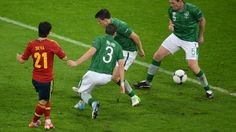 David Silva (Spain) - 2nd Goal - Spain 4-0 Republic of Ireland - Group C Knockout