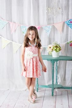 Ryleigh Rue Clothing by MVB - Pink Springtime Bouquet Dress, $36.00 (http://www.ryleighrueclothing.com/new/dresses/pink-springtime-bouquet-dress.html/)