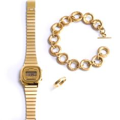 Savannah Chic Artemis bracelet with my casio watch and wedding band...my everyday trio made in heaven!