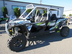 New 2017 Polaris RZR XP 4 1000 EPS White Lightning ATVs For Sale in Washington. 2017 Polaris RZR XP 4 1000 EPS White Lightning, 2017 Polaris® RZR XP® 1000 EPS White Lightning <p> The benchmark for Xtreme Performance. Power, suspension, and agility for any terrain.</p><p> Features may include: </p> POWER FEATURES <ul> <li> 110 HP PROSTAR® H.O. ENGINE</li></ul><p> Designed specifically for extreme performance, the Polaris ProStar® 1000 H.O. engine features 110 horses of High Output power and…