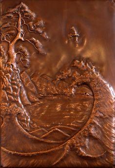 Laurie C., Copper Repousse Artist } COMMISSIONS 1{laurieartist.com