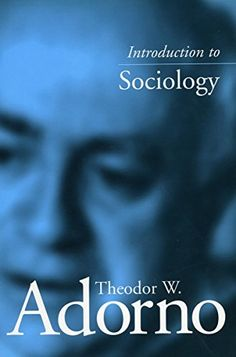 Introduction to Sociology by Theodor Adorno http://www.amazon.com/dp/0804746834/ref=cm_sw_r_pi_dp_ijccub0MCN2QW