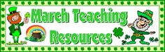 You'll find fun St. Patrick's Day lesson plans, projects, templates, and sticker charts on this page.
