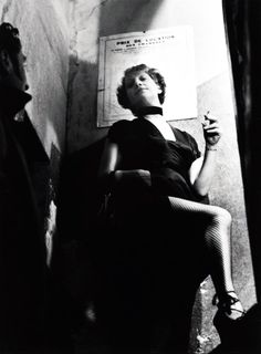 France. Prostitute, Paris, c.1930 // by Brassaï-Gyula-Halász