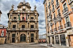 Pamplona, Spain. I would love to revisit and spend more time. It's such a beautiful city.