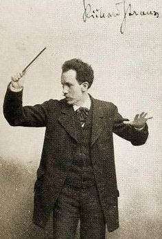 Richard Strauss, 20th century composer and conductor, known for his operas, Lieder and symphonic work