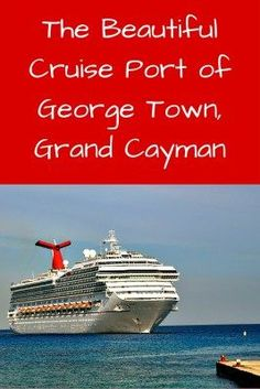 Visiting Georgetown, Grand Cayman, is a cruisers favorite Caribbean port for shopping and gorgeous beaches. Have you visited their 7 Mile Beach?