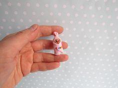 Miniatur OOAK Baby BUNDLEBABY 3,5cm Puppenstube 1:12 REAPLUKI Toy, Geschenk Geburt Taufe Handgemacht Unikat von YuliyasOOAKdolls auf Etsy