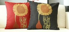 We all need a little sunshine!  #pillowcovers