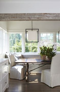 Airy Dining Area