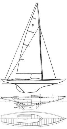 Sailboat and sailing yacht searchable database with more than sailboats from around the world including sailboat photos and drawings. About the DRAGON (INT) sailboat Wooden Sailboat, Sailboat Plans, Wooden Boats, Classic Sailing, Classic Yachts, Wooden Boat Building, Boat Building Plans, Wooden Boat Plans, Yacht Design