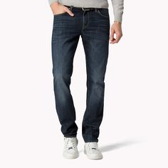 Tommy Hilfiger Denton Straight Fit Jeans - peterson blue (Blue) - Tommy  Hilfiger Straight dcbd3e2746