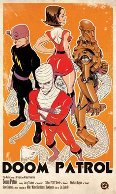 Doom Patrol by Mike Hawthorne and Luc Labelle