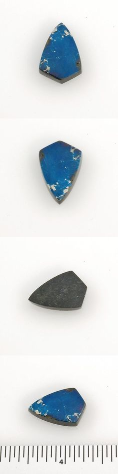 Other Loose Stones 169310: Covellite Polished Blue Magenta Shield Cabochon 1.9 Grams 0.81 Inches Butte, Mt BUY IT NOW ONLY: $58.0