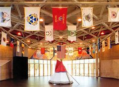 Wichita, KS - The Mid-America All-Indian Center allows visitors to experience Native American culture and cuisine, artwork exhibitions, and artifacts.