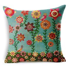 Tree Print Pillow Cover 7 Patterns