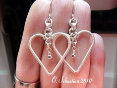 """Here's your chance to win a pair  of Sterling silver """"Wrapped With Love"""" earrings, a $35.00 value. Just re-pin to one of your boards and you are entered, easy as that! Winner will be announced in comments under this picture :)"""
