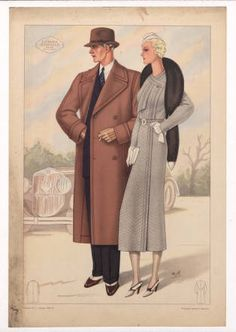 Menswear 1930s- Italian, Plate 002 :: Costume Institute Fashion Plates