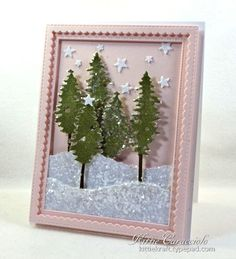 Sparkly Tall Trees