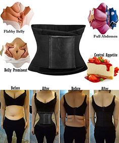 fc2622264a KissFit Themo Waist Trainer Trimmer Hot Neoprene Belt Make You Sweat Crazy  Sauna Effect Weight Loss Slimmer at Amazon Women s Clothing store