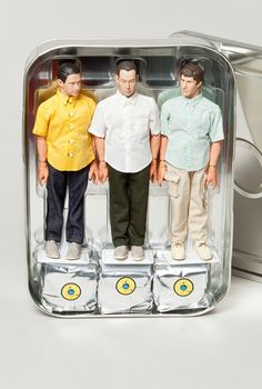 Beastie Boys action figures, yours for a mere $700. I still want them though.
