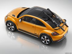 2014 Volkswagen Beetle Dune Concept (with mounted skis) - Top, 1024x768, #16 of 27