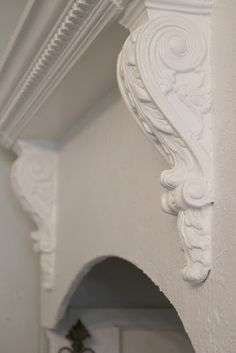 FRENCH COUNTRY COTTAGE: constructed vent cover with shelf