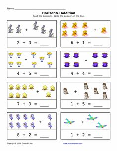 math worksheet : free worksheets  math  addition sums 1 10 horizontal and  : Schoolexpress Com Math Worksheets
