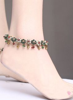 Pazeb-Payal-Anklet : Online Shopping, - Shop for great products from India with discounts and offers, Indian Clothes and Jewelry Online Shop Silver Heels Wedding, Silver Jewellery, Jewelery, Rajput Jewellery, Ankle Chain, Anklets, Indian Outfits, Chains, Saree