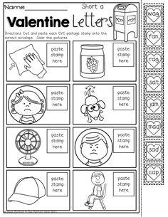 CVC scramble! Unscramble the CVC words to match the