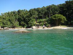 Uma das ilhas em Paraty
