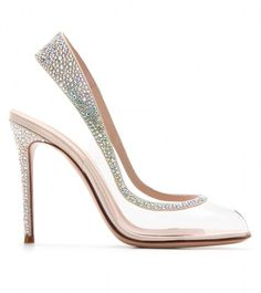 Gianvito Rossi .... absolutely gorgeous...it may be my favourite see-thru shoe !
