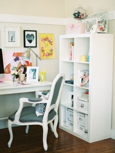 Fill your desk with stuff you love and put a little pretty in your workday