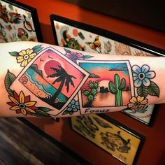 "4,134 Likes, 26 Comments - TattooSnob (@tattoosnob) on Instagram: ""Beach & Desert Polaroids by @jakethesnaketattoo at Black Metal Tattoo in Strongsville, Ohio.…"""