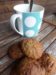 Banana bread cookies / Biscuits facon cake a la banane