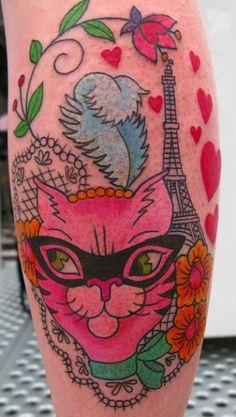 tattoo by Sunny Buick via Juxtapoz