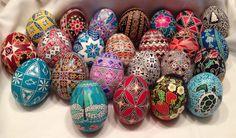 My Easter eggs (pysanky)
