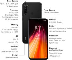 Quad, Xiaomi Wallpapers, Latest Cell Phones, Curved Glass, Multi Touch, 4gb Ram, Note 8, Dual Sim
